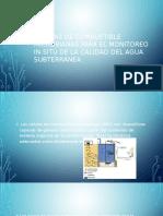 Células de Combustible Microbianas Para El Monitoreo in-situ