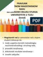 Izvod Iz Pravilnika 2013 14