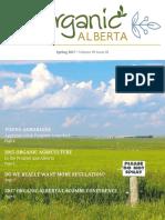 Organic Alberta Spring 2017 Magazine