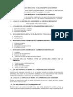 Cuestionario Derecho Mercantil i