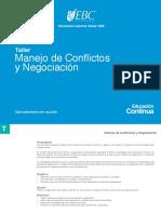 01 Taller-manejo-conflictos y Negociacion