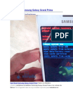 Hard Reset Samsung Galaxy Grand Prime