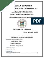 Pib_ECUADOR 2015