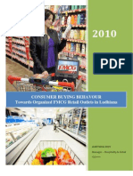 Consumer Buying Behaviours Towards Organised Retail Outlets