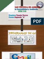 Progamas de Las Web 2.0