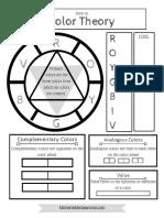 Color Theory Printable 3 PDF