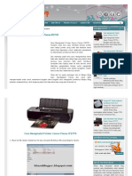 Cara Menginstal Printer Canon Pixma IP2770 _ Bhayu Blog