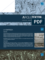 Brochure Ʌrquitekton
