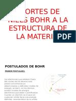Aportes de Niels Bohr Fernando