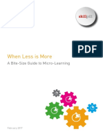 When Less is More - A Bite-Size Guide to Micro-Learning