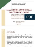 Órgãos Reguladores Harmonização e Estrutura Conceitual