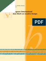 Congreso Internacional José Martí en nuestro tiempo