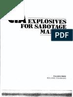 Cia Explosives For Sabotage Manual Paladin Press 1987.pdf