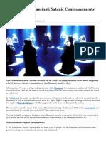 Secret List Of Illuminati Satanic Commandments Leaked.pdf