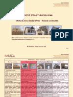 RoPartener Oferta de Pret Case Din Lemn 4 Variante Constructive