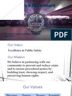 Mesa Police Department Presentation