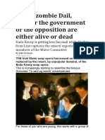 In This Zombie Dail, Neither the Government or the Opposition Are Either Alive or Dead
