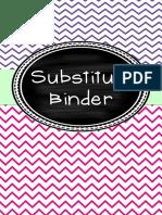 substitutebinder 1