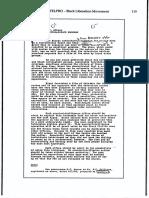 FBI MEMO Control of Media