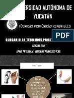 Glosario de Tã‰Rminos Prostodonticos[1]