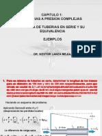 1.0 Ejemplo Tuberias en Serie y Equivalencia