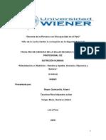 Doc Alimentación vs Nutrición - Hambre y Apetito. Anorexia, Hiporexia y Bulimia