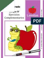 4to Grado - Bloque 4 - Ejercicios Complementarios COMPLETOS DE TODAS LAS MATERIAS.pdf