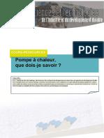 6148 Cours Pompe Chaleur