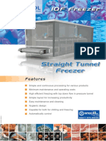 Brochure FPE Sale Straight Tunnel Freezer 2009