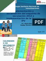Calendario de vacunación 2013.ppt