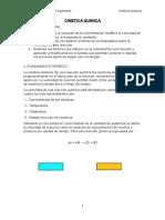Cinetica Quimica Laboratorio n3