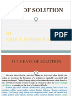 Heats of Solution-Abro Andriadi Harahap