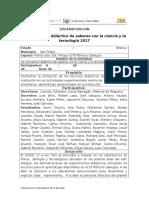 Informe de Sistematizacion e d Cy t Marzo-17(Borrador)