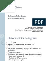 Miastenia Gravis Dr Gustavo Mallea