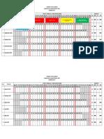 Jadwal k13 Versi 2016