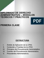 Diplomado de Derecho Administrativo - Primera Clase (1)