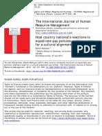 International Journal of Human Resource ManagementVolume 22 Issue 1 2011 [Doi 10.1080_09585192.2011.538973] Mahajan, Ashish -- Host Country National's Reactions to Expatriate Pay Policies- Making A