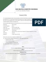 Pt Cahayatiara Mustika Scientific Indonesia-catalog 2016