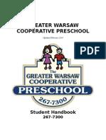 GWCP Handbook 2017-2018