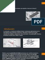 Extrusión-Manufactura