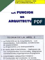 (2) La Funcion en Arquitectura -01!