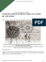 [top] O discreto charme de Bruno Latour ou a crítica da anti-crítica.pdf