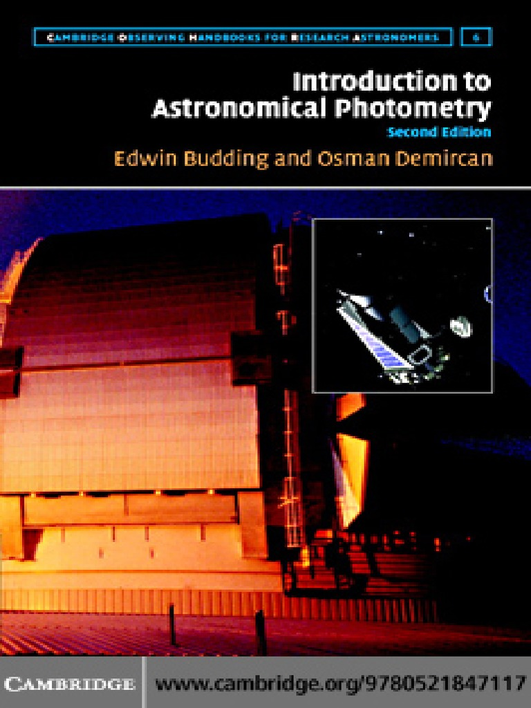 Budding - Introduction to Astronomical Photometry | Ciencia