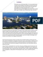 Florida's History,Climate,Languages,Religion and Governance