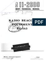 TM11-2609 Radio Beacon Equipment RC-163