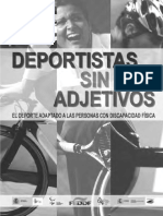 Deportistas Sin Adjetivos Paralímpicos