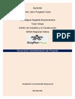 Documento Caracterizaciòn Del Proyecto