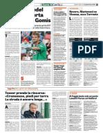 La Gazzetta dello Sport 21-04-2017 - Intervista a Tesser
