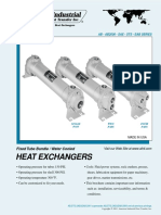 American Industrial (AB,AB2000,SAE,STS,EAB) Heat Exchangers