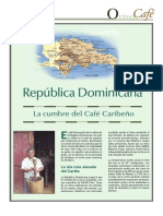 Café en Republica Dominicana